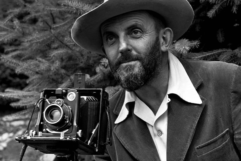 Ansel Adams fotógrafo obras