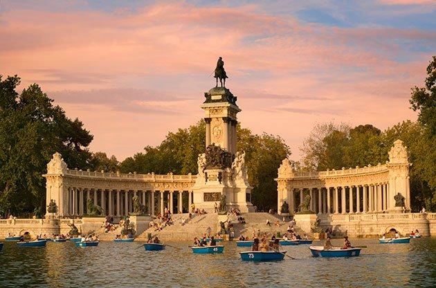 Barcas del Retiro Madrid