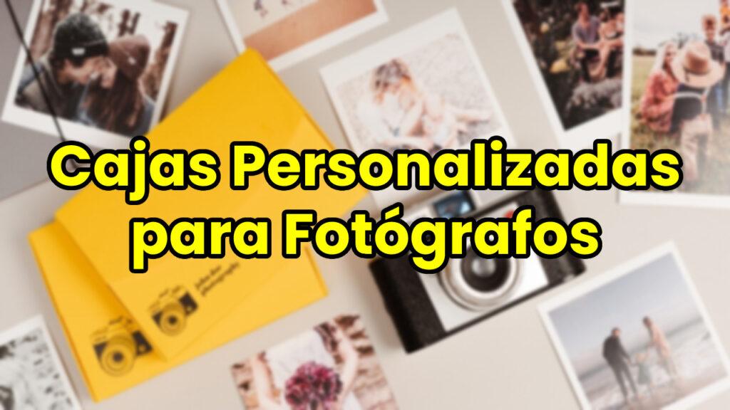 Cajas Personalizadas para Fotógrafos