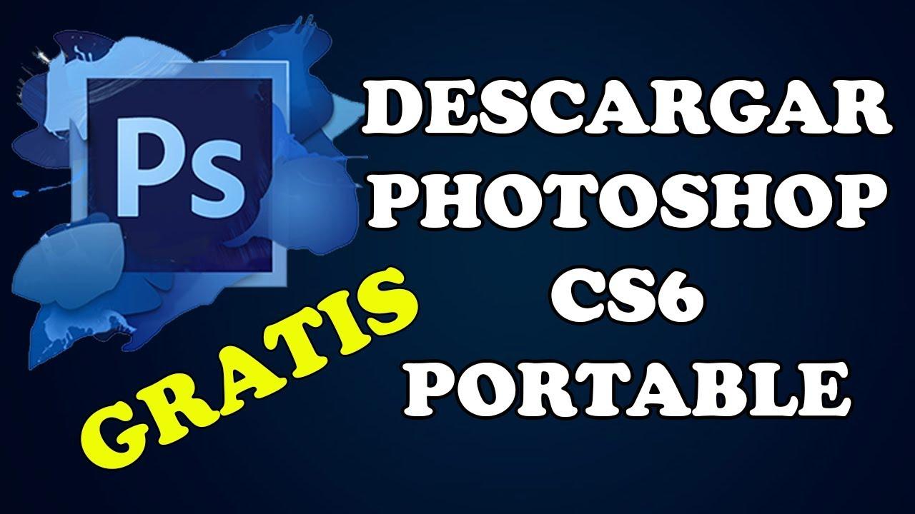 Como descargar photoshop portable gratis en Español