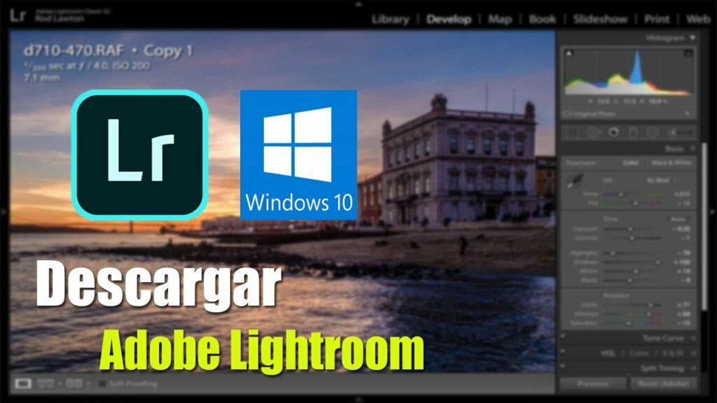 Descargar Lightroom Gratis para siempre PC