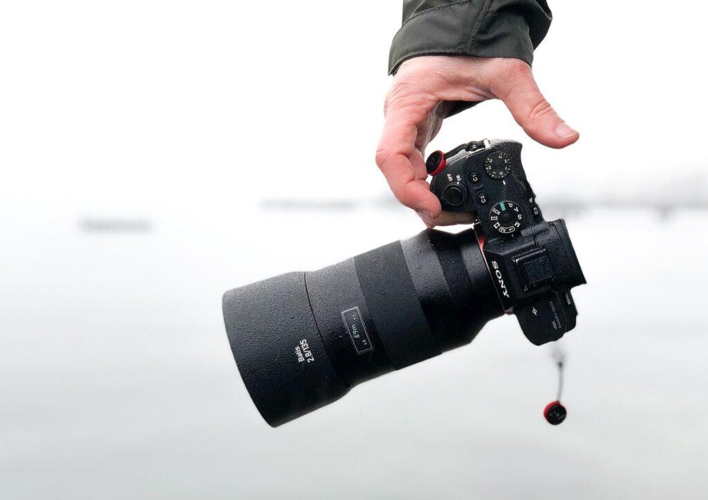 camara para fotógrafo profesional