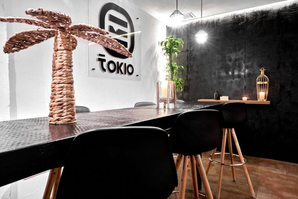 Fotografía de Interiores Madrid Tokyo Burger sushi