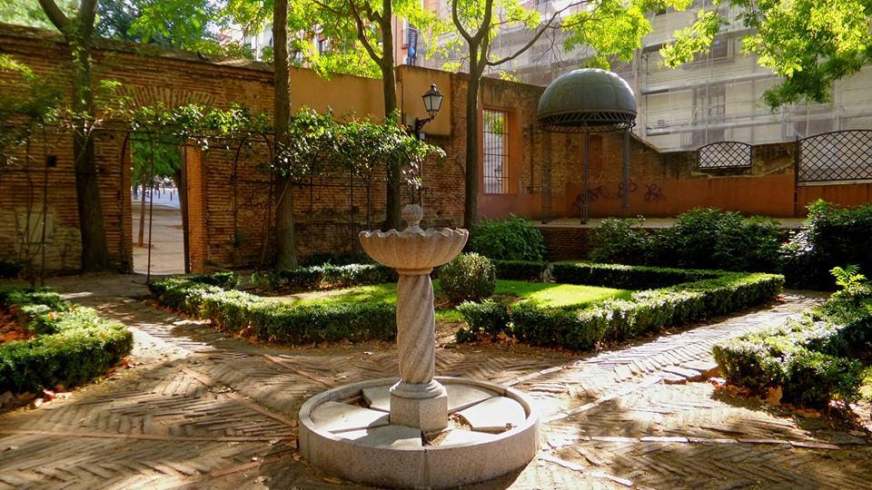 Jardín del Príncipe de Anglona Madrid