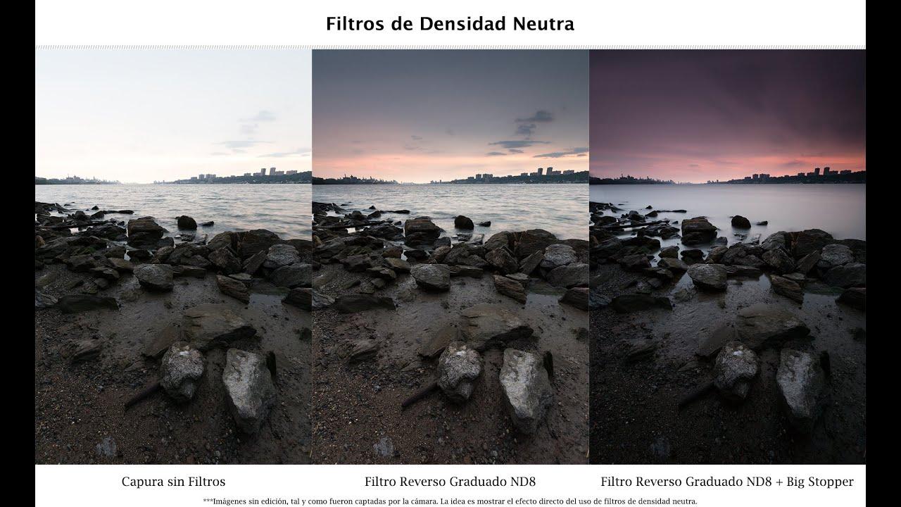 Los Mejores Filtros de Densidad Neutra Variable