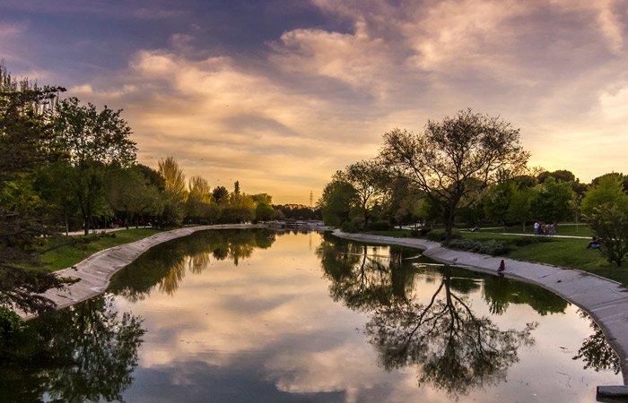 Parque de Enrique Tierno Galván Madrid