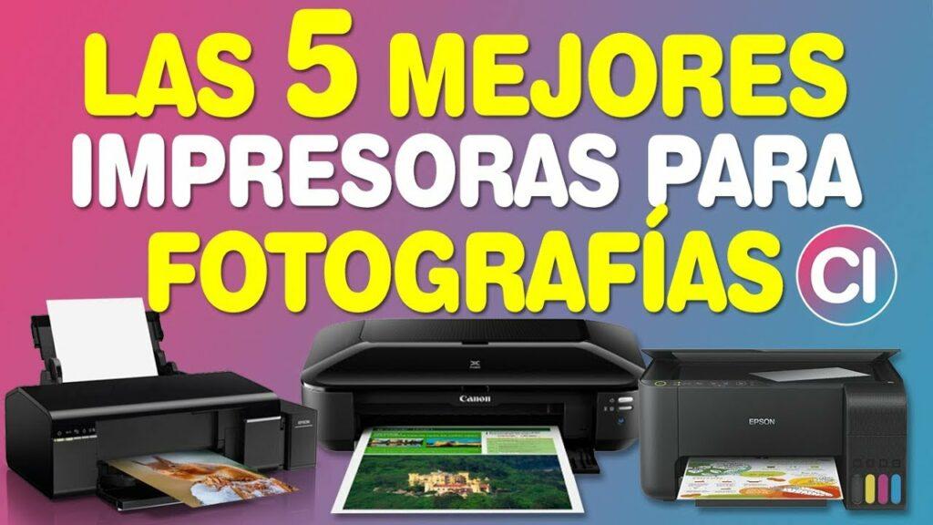 cual es la mejor impresora fotográfica profesional