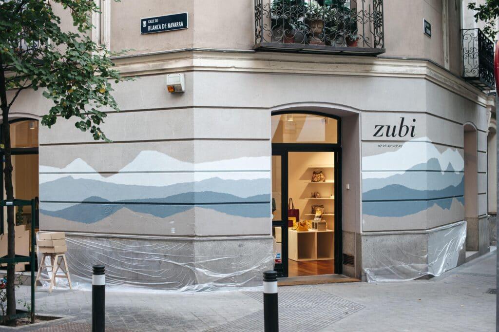 Sitios en Madrid para hacer Fotos Urbanas fachada zubi Madrid