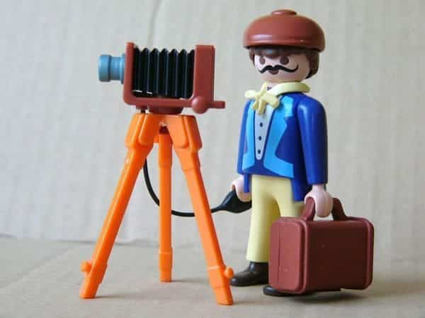playmobil fotografo